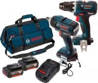 Набор электроинструмента Bosch GDS 18 V-EC 250 Plus GSR 18 V-EC Professional