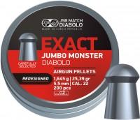 Пули и патроны JSB Monster Redesigned 5.52 mm 1.645 g 200 pcs