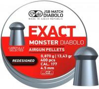 Пули и патроны JSB Monster Redesigned 4.52 mm 0.87 g 400 pcs