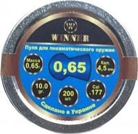Кулі й патрони Winner Krygl 4.5 mm 0.65 g 200 pcs