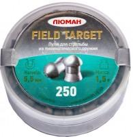 Кулі й патрони Luman Field Target 5.5 mm 1.5 g 250 pcs
