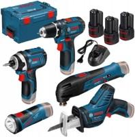 Набор электроинструмента Bosch GSR 12V-15 Plus GDR 12V-105 Plus GSA 12V-14 Plus GOP 12V-28 Plus GLI 12V-80 Professional
