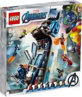 Фото - Конструктор Lego Avengers Tower Battle 76166
