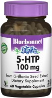 Фото - Амінокислоти Bluebonnet Nutrition 5-HTP 100 mg 60 cap