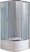 Душевая кабина Santeh 1021 F 100x100см симметричная
