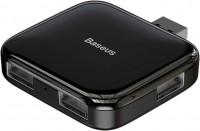 Картридер / USB-хаб BASEUS Fully Folded Portable 4-in-1