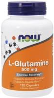 Фото - Аминокислоты Now L-Glutamine 500 mg 120 cap
