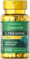 Фото - Аминокислоты Puritans Pride L-Theanine 100 mg 30 cap