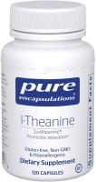 Фото - Аминокислоты Pure Encapsulations L-Theanine 60 cap