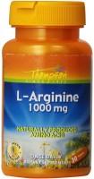 Фото - Амінокислоти Thompson L- Arginine 1000 mg 30 tab