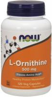 Фото - Амінокислоти Now L-Ornithine 500 mg 120 cap