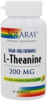 Фото - Аминокислоты Solaray L-Theanine 200 mg 45 cap