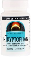 Фото - Аминокислоты Source Naturals L-Tryptophan with Vitamin B-6 60 tab
