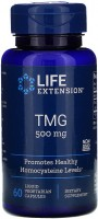 Фото - Амінокислоти Life Extension TMG 500 mg 60 cap