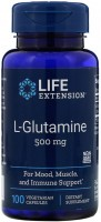 Фото - Амінокислоти Life Extension L-Glutamine 500 mg 100 cap