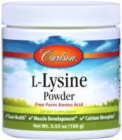 Фото - Амінокислоти Carlson Labs L-Lysine Powder 100 g