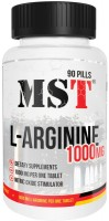Фото - Амінокислоти MST L-Arginine 1000 mg 90 tab