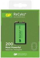 Аккумулятор / батарейка GP ReCyko 1xKrona 200 mAh