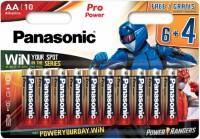 Фото - Аккумулятор / батарейка Panasonic Pro Power  10xAA