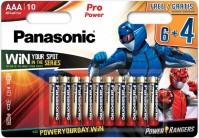 Фото - Аккумулятор / батарейка Panasonic Pro Power  10xAAA
