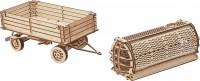 Фото - 3D пазл Wood Trick Trailer for Tractor