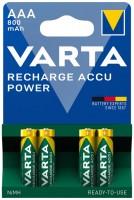 Фото - Аккумулятор / батарейка Varta Rechargeable Accu  4xAAA 800 mAh