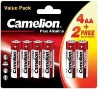 Фото - Аккумулятор / батарейка Camelion Plus  6xAA LR6-BP(4+2)