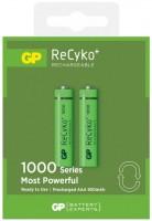 Фото - Аккумулятор / батарейка GP Recyko  2xAAA 1000 mAh