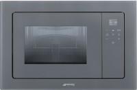 Фото - Встраиваемая микроволновая печь Smeg FMI120S2