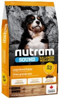 Корм для собак Nutram S3 Sound Balanced Large Breed Natural Puppy 11.4 кг