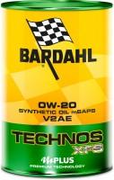 Моторное масло Bardahl C60 Technos XFS V2AE 0W-20 1L 1л