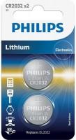 Аккумулятор / батарейка Philips  2xCR2032