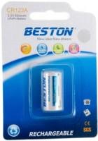 Аккумулятор / батарейка Beston 1xCR123A 600mAh