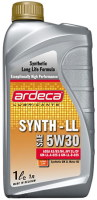 Моторное масло Ardeca Synth LL 5W-30 1л