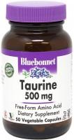 Фото - Амінокислоти Bluebonnet Nutrition Taurine 500 mg 50 cap