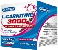 Сжигатель жира Quamtrax L-Carnitine 3000 20 amp 500мл