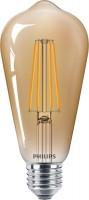 Лампочка Philips LEDClassic ST64 5.5W 2500K E27 Gold