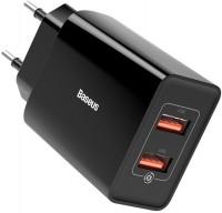 Зарядное устройство BASEUS Speed Mini Dual U QC 18W