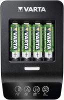 Фото - Зарядка аккумуляторных батареек Varta LCD Ultra Fast Plus Charger + 4xAA 2100 mAh