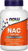 Аминокислоты Now NAC 1000 mg 120 tab