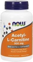 Спалювач жиру Now Acetyl L-Carnitine 500 mg 50шт