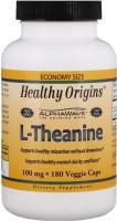 Фото - Амінокислоти Healthy Origins L-Theanine 100 mg 90 cap