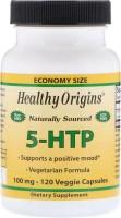 Фото - Аминокислоты Healthy Origins 5-HTP 100 mg 120 cap