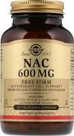Фото - Амінокислоти SOLGAR NAC 600 mg 30 cap