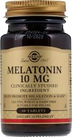 Фото - Аминокислоты SOLGAR Melatonin 10 mg 60 tab