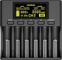 Зарядка аккумуляторных батареек Liitokala Lii-S6