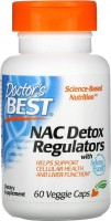 Фото - Аминокислоты Doctors Best NAC Detox Regulators 60 cap