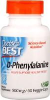Фото - Аминокислоты Doctors Best D-Phenylalanine 500 mg 60 cap