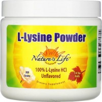 Фото - Амінокислоти Natures Life L-Lysine Powder 200 g