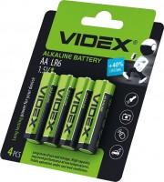 Аккумулятор / батарейка Videx  4xAA Alkaline